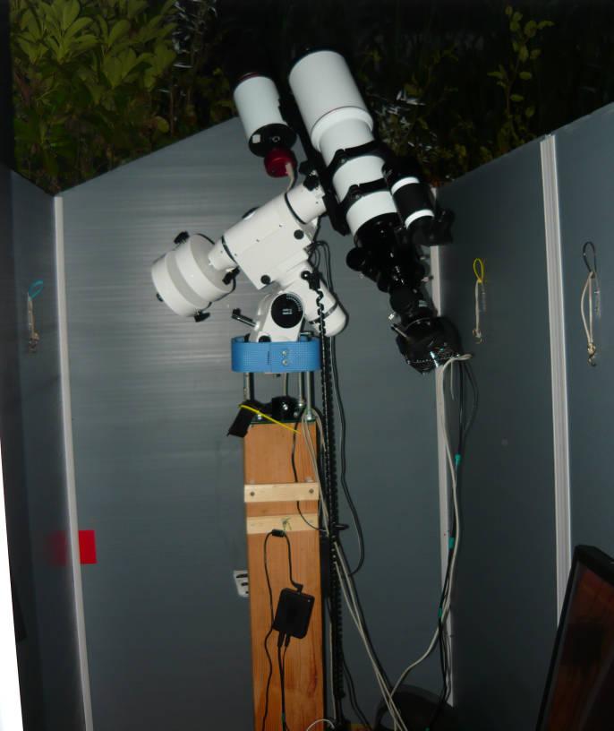 Observatory Based On A Polypropylene Garden Shed
