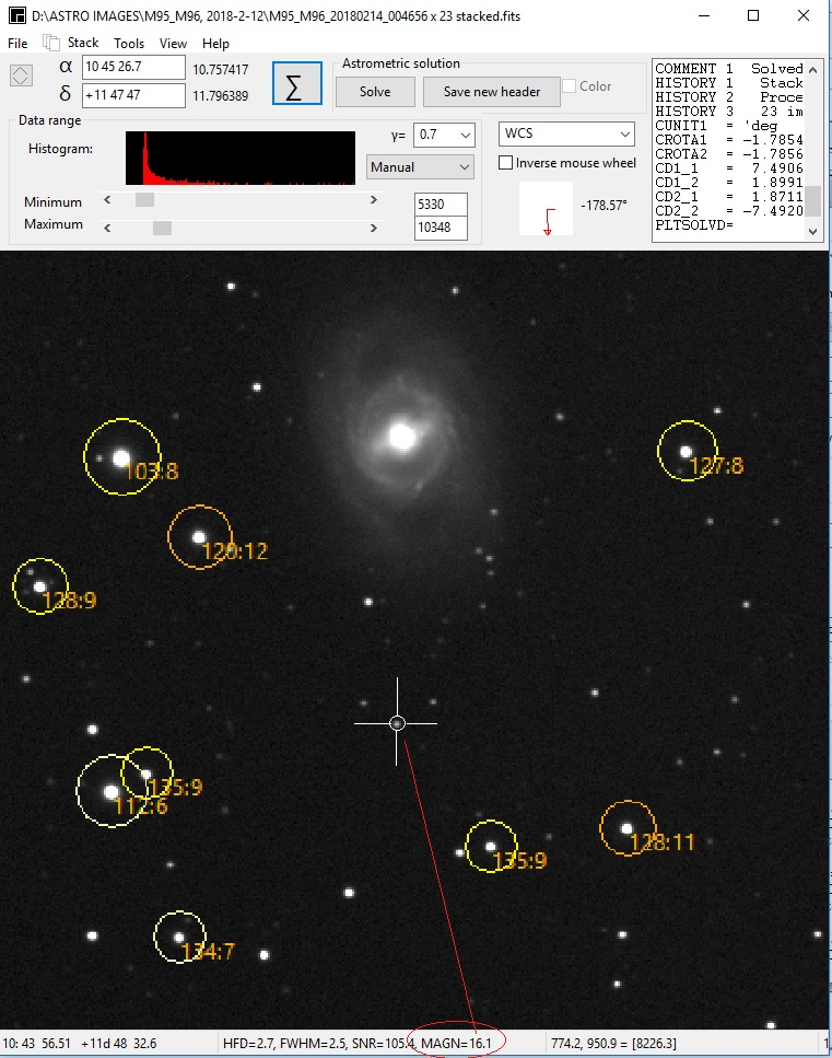 ASTAP, Astrometric Stacking Program